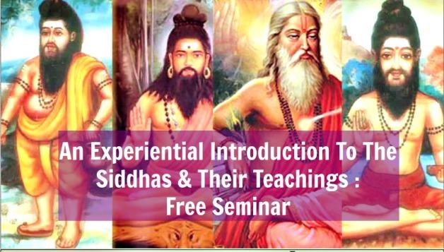 The Siddhas (Seminar)